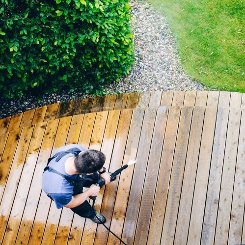 deck cleaning pressure washing dfw