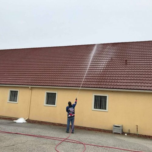 tile roof cleaning dallas