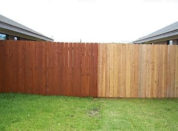 fence staining dallas fort worth tx
